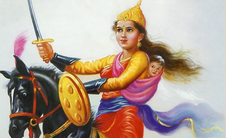 The inspiring Women Freedom Fighters of India RANI LAkshmi bhai